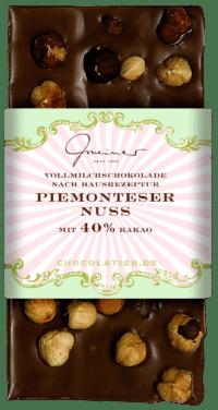 Gmeiner - Gmeiner Schokolade – Piemonteser Nuss - mit 40% Kakao