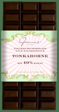 Gmeiner - Gmeiner Schokolade – Tonkabohne - mit 40% Kakao