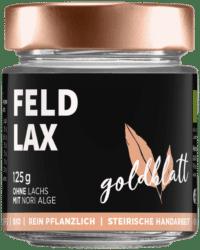 GOLDBLATT - Feldlax – VEGANER Brotaufstrich - wie Räucherlachscreme