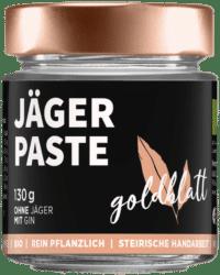 GOLDBLATT - Jägerpaste – VEGANER Brotaufstrich - wie Wildpastete mit Gin