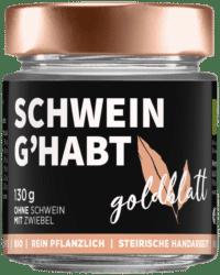 GOLDBLATT - Schwein g'habt – VEGANER Brotaufstrich - wie Bratlfettn