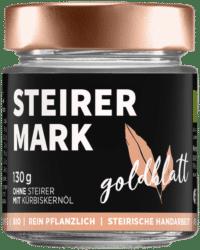 GOLDBLATT - Steirermark – VEGANER Brotaufstrich - Käferbohnenaufstrich mit Kürbiskernöl