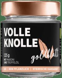 GOLDBLATT - Volle Knolle – VEGANER Brotaufstrich - Maroni-Trüffelaufstrich