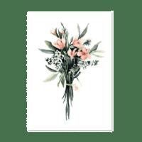 LEO LA DOUCE - Kunstdruck – Flower Bouquet