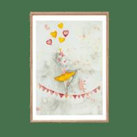 LEO LA DOUCE - Kunstdruck – Miss Ballerina