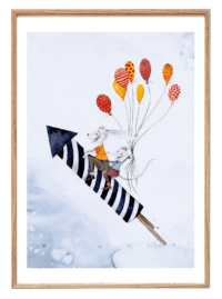 LEO LA DOUCE - Kunstdruck – Rocketfriends