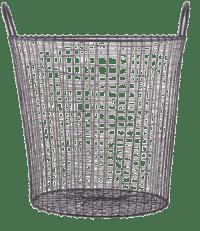 HOUSE DOCTOR - Wire-Korb in Schwarz – Large - Aufbewahrungskorb aus Eisen