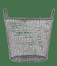 HOUSE DOCTOR - Wire-Korb in Schwarz – Medium - Aufbewahrungskorb aus Eisen