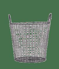 HOUSE DOCTOR - Wire-Korb in Schwarz – Small - Aufbewahrungskorb aus Eisen