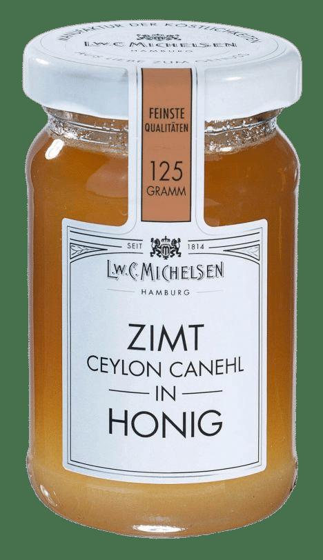 L.W.C. Michelsen - Zimt in Honig - Feinster Blütenhonig mit Zimt