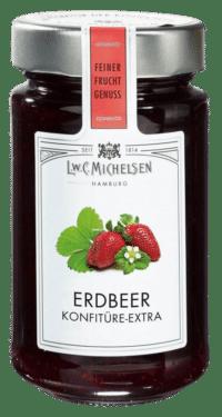 L.W.C. Michelsen - Erdbeer Konfitüre -extra- - Feinster Manufaktur Fruchtaufstrich