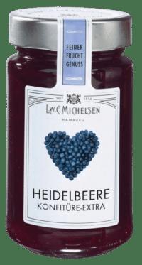 L.W.C. Michelsen - Heidelbeere Konfiture -extra- - Feinster Manufaktur Fruchtaufstrich