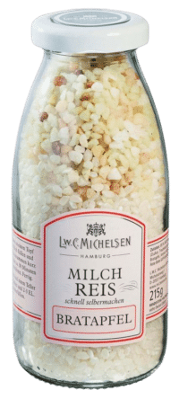 L.W.C. Michelsen - Milchreis mit Bratapfel - Milchreismischung mit Bratapfel-Knusperzucker und Milchreis