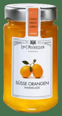 L.W.C. Michelsen - Süsse Orangen Marmelade - Feinster Manufaktur Fruchtaufstrich