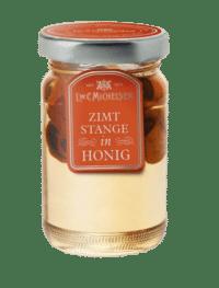 L.W.C. Michelsen - Zimtstange in Honig - Feinster Honig mit kleiner Zimtstange