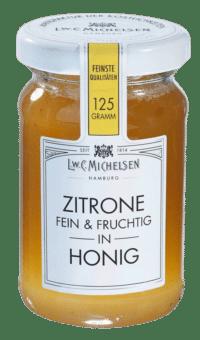 L.W.C. Michelsen - Zitrone in Honig - Feinster Blütenhonig mit Zitrone