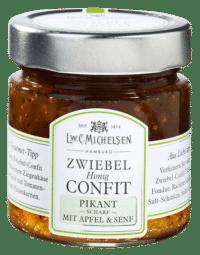 L.W.C. Michelsen - Zwiebel Confit -Pikant - mit Apfel und Senf