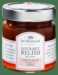 L.W.C. Michelsen - Gourmet Teufels-Relish - Teuflisch scharf mit Chili