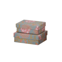 BUNGALOW - Mini Geschenkschachtel – Floral - 2er Set