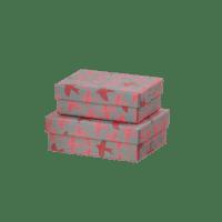 BUNGALOW - Mini Geschenkschachtel – Vögel - 2er Set
