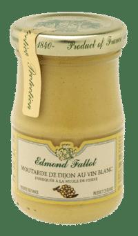 EDMOND FALLOT - FALLOT Dijon Senf mit Weißwein 105g - Moutarde de Dijon au Vin blanc