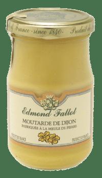 EDMOND FALLOT - FALLOT Dijon Senf – Klassisch 210g - Klassischer Dijon Senf - scharf