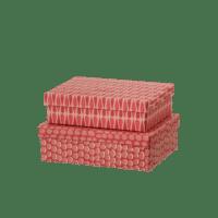 BUNGALOW - Geschenkbox – Dot Salsa - 2er Set