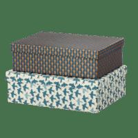BUNGALOW - Geschenkbox Matis Midnight – L - 2er Set