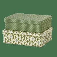 BUNGALOW - Geschenkboxen Matis Moss – L - 2er Set