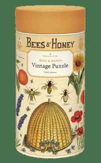 - Bienen & Honig – Vintage Puzzle - 1000 Teile