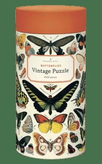 - Schmetterling – Vintage Puzzle - 1000 Teile
