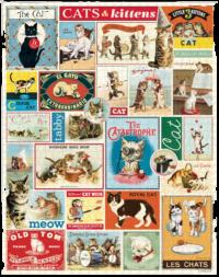 - Katzen – Vintage Puzzle - 1000 Teile