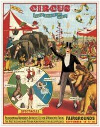 - Circus – Vintage Puzzle - 1000 Teile