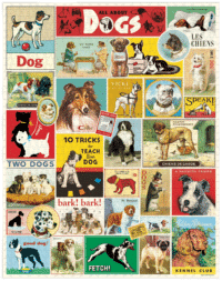 - Hunde – Vintage Puzzle - 1000 Teile