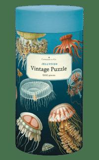 - Quallen – Vintage Puzzle - 1000 Teile