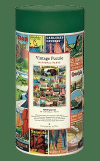 - National Parks – Vintage Puzzle - 1000 Teile