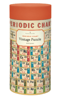 - Periodensystem – Vintage Puzzle - 1000 Teile
