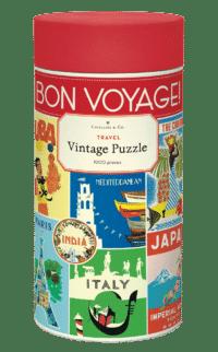 - Reise – Vintage Puzzle - 1000 Teile