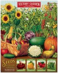 - Gemüsegarten – Vintage Puzzle - 1000 Teile