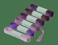 BUNGALOW - Geschenkband – Lupine - 6er Set à 10m