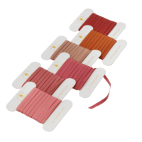 BUNGALOW - Geschenkband – Mauve - 6er Set à 10m - Slim