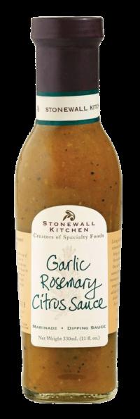 STONEWALL KITCHEN - Stonewall Kitchen – Garlic Rosmary Citrus Sauce - Grillsauce mit Knoblauch, Rosmarin und Zitrusfrüchten