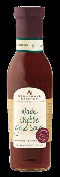 STONEWALL KITCHEN - Stonewall Kitchen – Maple Chipotle Grille Sauce - Chipotle Chili- Ahornsirup Sauce