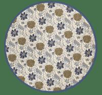 BUNGALOW - Tischtuch Rund –  Sitapur Topaz - Bedruckte Tischdecke aus Baumwolle