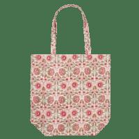 BUNGALOW - Stofftasche -Bunt - in Blockdruck