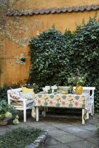 BUNGALOW - Tischtuch Rund –  Poonam Masala - Bedruckte Tischdecke aus Baumwolle