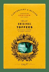 CARTWRIGHT & BUTLER - Original Toffees - Karamellbonbons