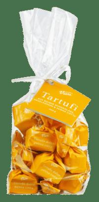 VIANI - Tartufi Dolci panna cotta - Weiße Schokoladentrüffel mit Creme