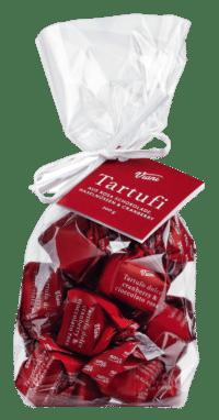VIANI - Tartufi Dolcim mirtilli e cioccolato rosa - Rosa Schokoladentrüffel mit Cranberry