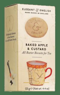ARTISAN BISCUITS - Butter Buscuits Bakes Apple & Custard - Butterkekse zum Tee mit Bratapfel